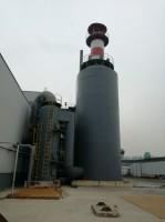 河北格瑞玻璃棉制品有限公司2线voc+湿试静电除尘系统